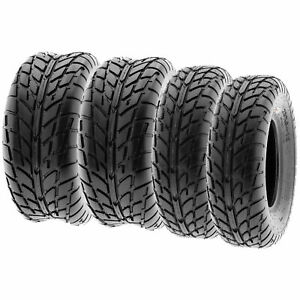 Rear 20X10-9 Sport ATV Tires for Suzuki Ozark 250 Quadsport 2 Front 22X7-10 /& 2