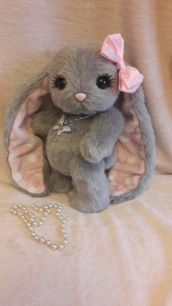 Plush toys rabbits cats cats handmade art high-end