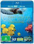 Fascination Coral Reef 3D / Fascination Coral Reef 3D - Hunters & The Hunted / Fascination Coral Reef 3D - Mysterious Worlds Under Water (Blu-ray, 2013)