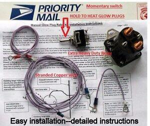ford glow plug relay wiring 95 ford glow plug relay wiring