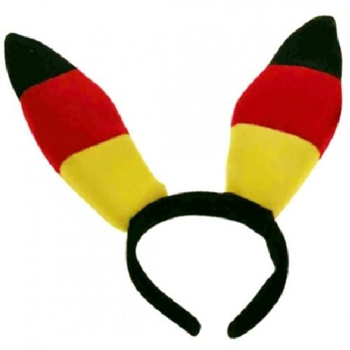 2x Fanohren Kostüm Bunnyohren Hasenohren Hasen-Ohren Bunny Haarreif Deutschland