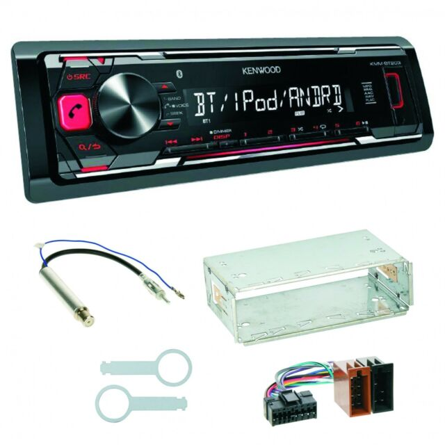 KMM-BT203 USB Autoradio MP3 Bluetooth Einbauset für Skoda Octavia 1U Superb 1