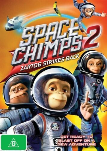1 of 1 - Space Chimps 2: Zartog Strikes Back NEW R4 DVD