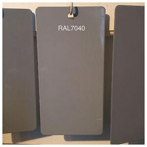Ral 7040 49 75470 Window Gray Grey Powder Coating Paint 5lb Bag New