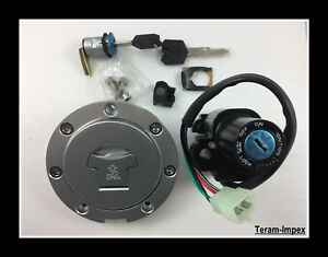 Kit-Contacteur-Neiman-Cle-bouchon-Serrure-selle-pour-Honda-Hornet-CBR-VTR-VFR-CB