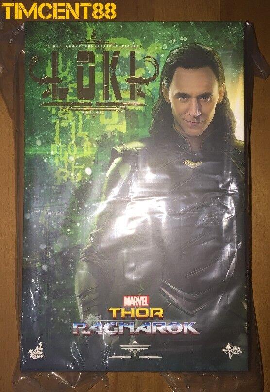 listo Hot Toys MMS472 Thor: Ragnarok 16 Loki Tom Hiddleston Figura Nueva