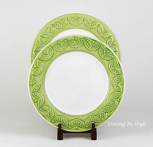 Image is loading Set-of-2-Dinner-Plates-NEAR-MINT-Classic- : zak designs dinnerware - pezcame.com
