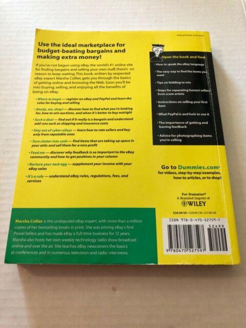 Ebay For Seniors By Marsha Collier 2009 Trade Paperback For Sale Online Ebay