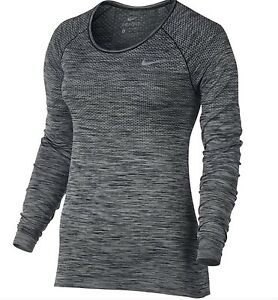 74ee4dac6c6 Women's Dri Fit Knit Knitted Long Sleeve Training Top, 718582-010 ...