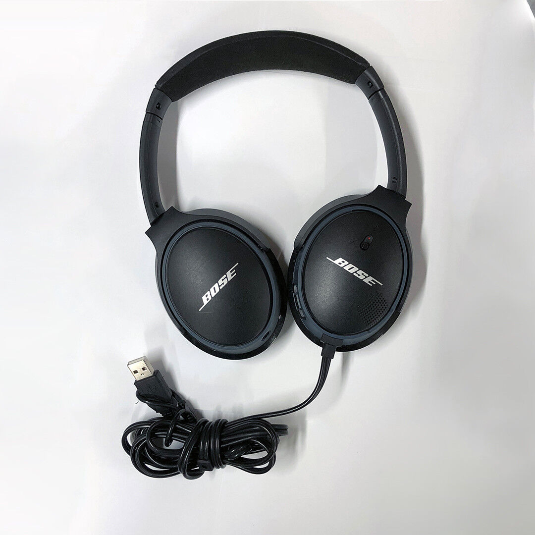 d63ee58811c Bose SoundLink Around-Ear Headband Wireless Headphones - Black for sale  online | eBay