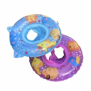 Baby Swimming Kid Inflatable Safety Handle Seat Float Swim Raft Chair Swimming Toy Swimming Pool