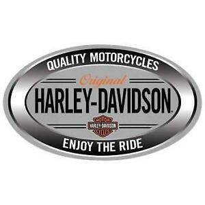Harley Davidson Enjoy Ride Oval Metal Sign (New) Calgary Alberta Preview