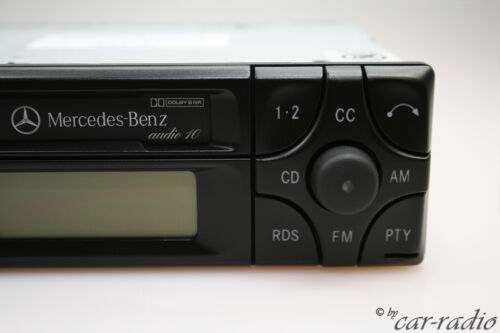 Original Mercedes r129 Sl-Classe w129 Autoradio Audio 10 be3200 cassette Becker