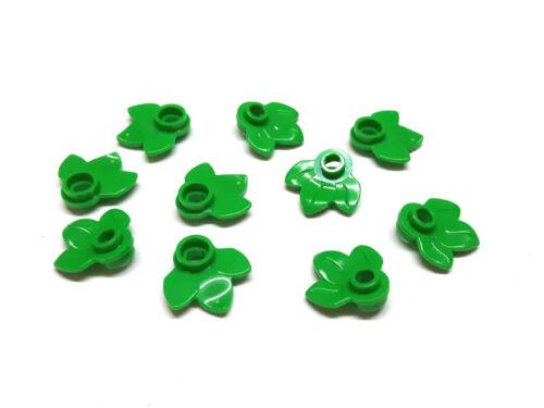 6182261 Lego Pflanze Blatt Grün hell 10 Stück