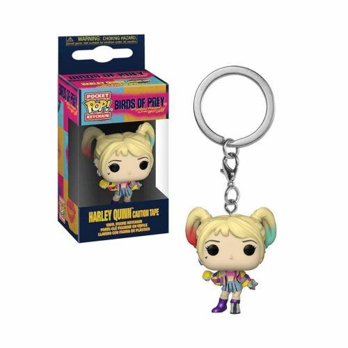 attenzione Nastro rapaci-Harley Quinn tasca portachiavi POP! DC Comics