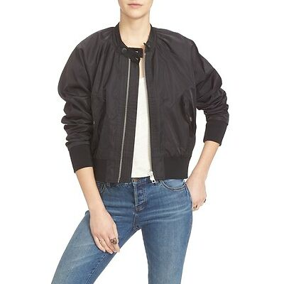 NWT Free People Midnight Bomber Jacket Retail $78