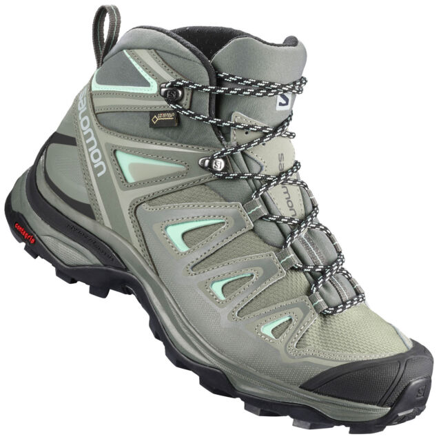 Salomon X Ultra Mid GTX Gore Tex Women's Hiking Boots Trail Trekking Shoes