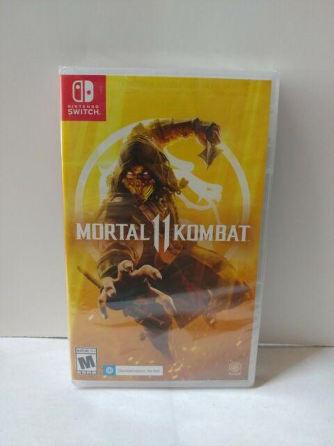 Mortal Kombat 11 (Nintendo Switch) New Free Shipping