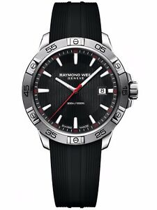 Raymond-Weil-Tango-300-Quartz-Watch-Black-Day-41-Mm-30-ATM-8160sr220001