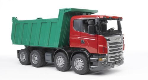 Bruder Scania R-Série Benne Construction Truck Kids Toy Modèle échelle 1:16