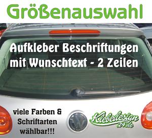 2-Zeilen-Aufkleber-Beschriftung-30-180cm-Werbung-Sticker-Werbebeschriftung-Auto