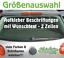 Indexbild 1 - 2-Zeilen-Aufkleber-Beschriftung-30-180cm-Werbung-Sticker-Werbebeschriftung-Auto