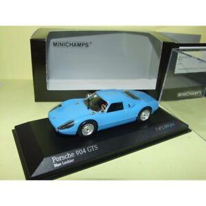 PORSCHE-904-GTS-1964-Bleu-Blau-Lechler-MINICHAMPS-1-43