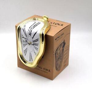 Image Is Loading New Salvador Dali Melting Desk Shelf Clock Vintage
