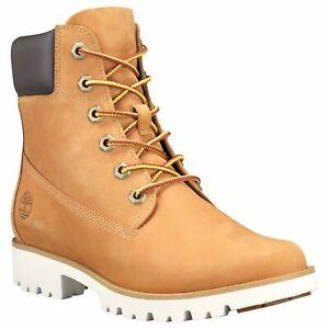 TIMBERLAND-A1VXN-WOMEN-039-S-6-034-CLASSIC-LITE-WHEAT-NUBUCK-LEATHER-BOOTS
