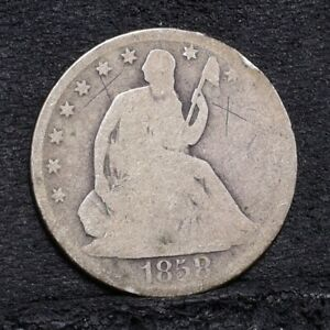 1858-O-Liberty-Seated-Half-Dollar-AG-Details-29621