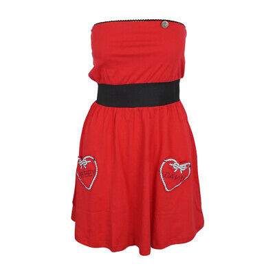 ABBEY DAWN WOMENS HOLD FAST DRESS RED