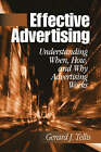 Effective Advertising: Understanding When, How, and Why Advertising Works by Gerald J. Tellis (Paperback, 2004)