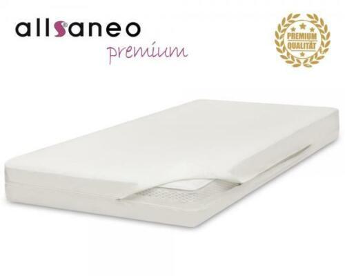 allsaneo premium Encasing Matratzenbezug 140x200x16 cm Allergiker Bettwäsche