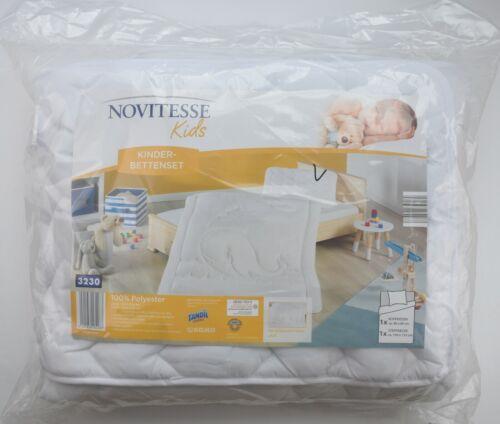 Novitesse Kinder Bettenset Bettdecke 100 x 135 cm Kopfkissen 40x60 cm Microfaser