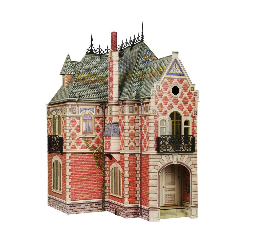 Doll house II Furniture Dolls Miniatures Dollhouse Cardboard Model Kit  329