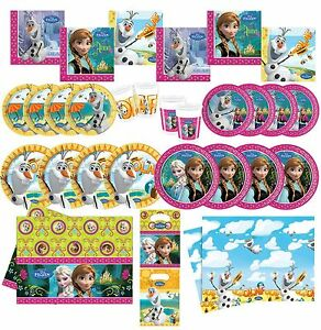FROZEN ANNA AND ELSA Tableware Plates Cups Napkins Tablecover Straws - Newcastle upon Tyne, Tyne and Wear, United Kingdom - FROZEN ANNA AND ELSA Tableware Plates Cups Napkins Tablecover Straws - Newcastle upon Tyne, Tyne and Wear, United Kingdom