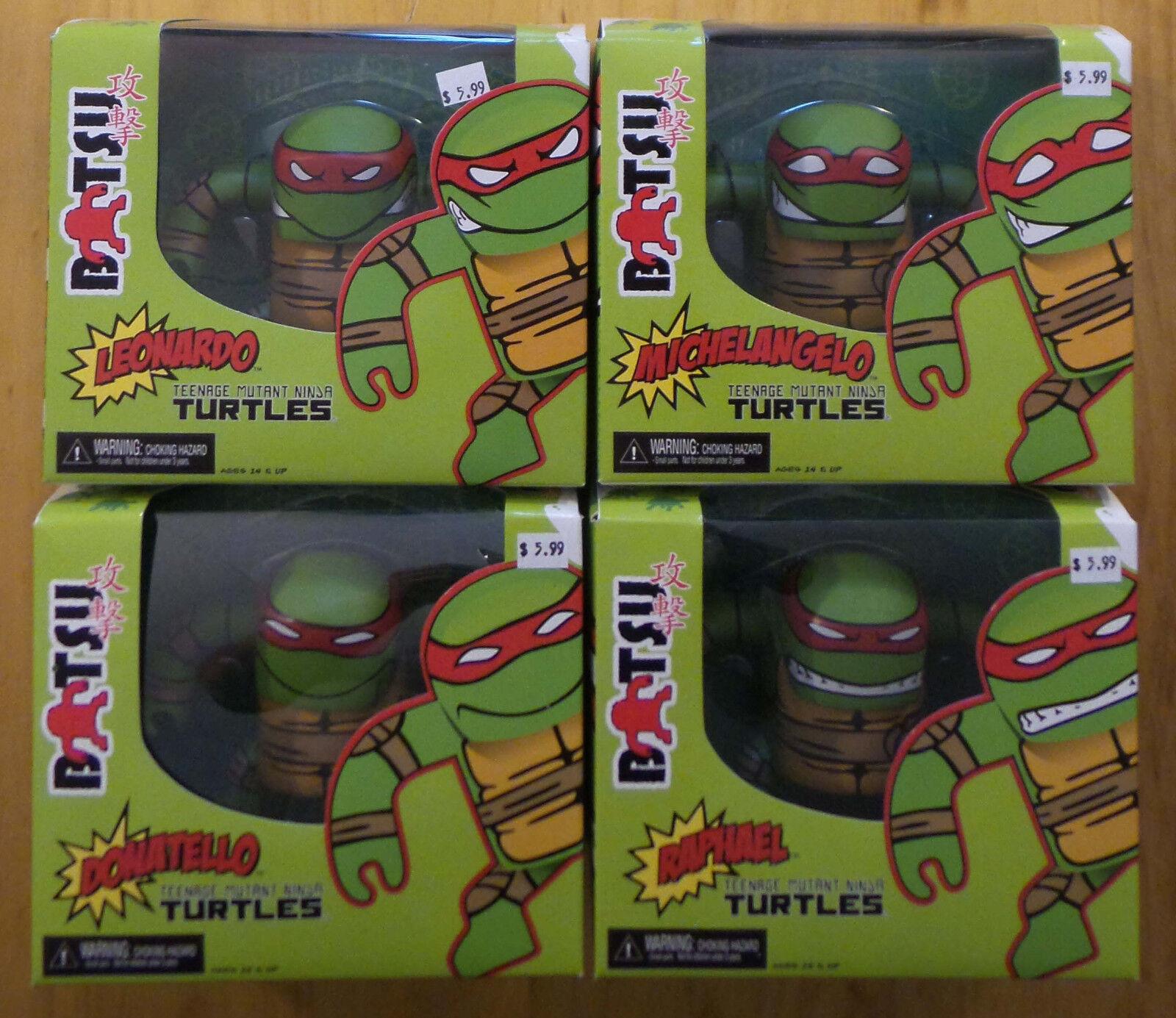 Batsu Neca TMNT Complete Ninja Turtles MINT NIB