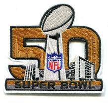 2014 SEASON NFL CHAMPIONSHIP GAME 02.07.2016 BAY AREA SUPER BOWL 50 PATCH