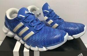 80f0c73cc Adidas Mens Size 7.5 Adipure Crazy Quick Running Shoes Blue 3 Stripe ...