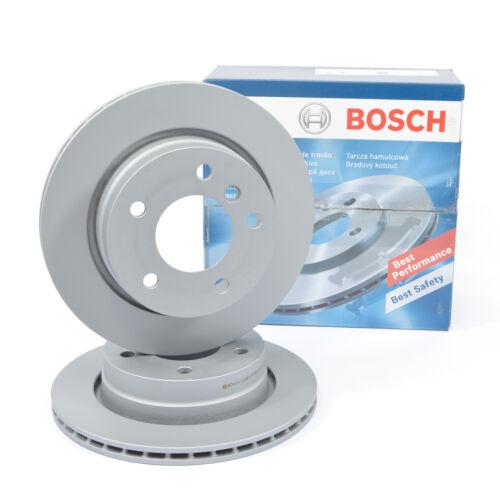Bosch Disques De Frein 280 MM ventilée naturellement pour essieu avant 0986478846 VW