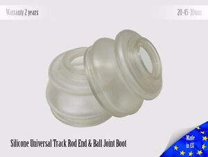 2-X-UNIVERSAL-Dust-Boot-Silicone-20-45-30-Track-Rod-End-and-Ball-Joint-Boots