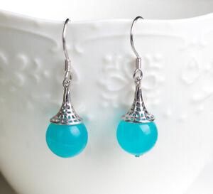 T03-Boucles-D-039-Oreilles-Calices-avec-Amazonite-Turquoise-Boule-925-Argent