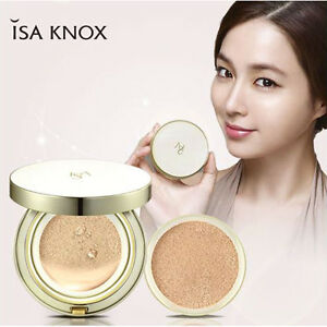 Details About Isa Knox Cushion Foundation Korean Cosmetics Cell Renew Cover Cushion Ex 1 1