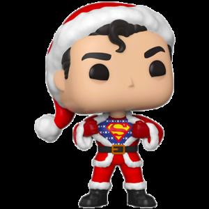 Vinyl Superman Superman Sweater Holiday Pop