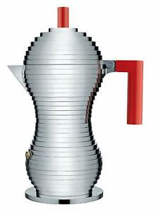 Alessi-Pulcina-MDL02-6-R-Machine-a-Cafe-de-Conception-en-Aluminium-et-Pa-Red-6