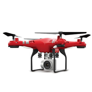 Wide-Angle-Lens-HD-Camera-Quadcopter-RC-Drone-WiFi-FPV-Live-Helicopter-Hover-RED