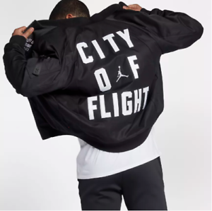 4ae799af1e88ba Nike Jordan Sportswear City Of Flight Jacket Wings LA SZ L Large ...