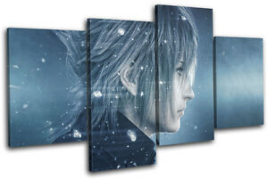 Final Fantasy Xv Xbox One Ps4 Pc Gaming Multi Canvas Wall Art