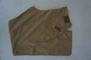 ALBERTO-Tim-Jeans-Comfort-Stretch-Trousers-Gr-102-Ca-W35-L36-Thin-as-New-Beige