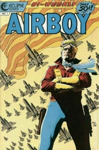 Airboy #7 FN 1986 Stock Image